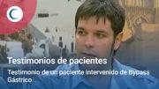 Testimonio de un paciente intervenido de Bypass Gástrico. TV Mediterráneo