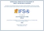 Certificado IFSO DR