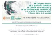 Certificado SECO BPGYR vs. SADI-s