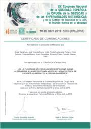 Certificado SECO PG vs. TG