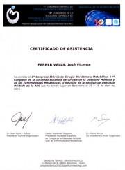 Congreso Ibérico de Cirugía Bariátrica y Metabólica 2012