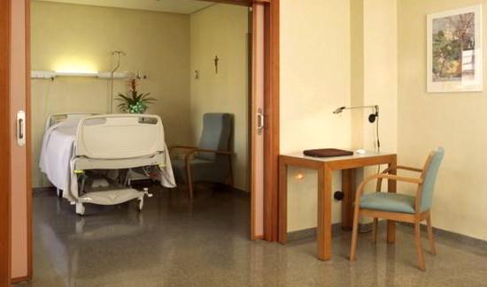 Habitación Hospital Nisa 9 de Octubre Valencia