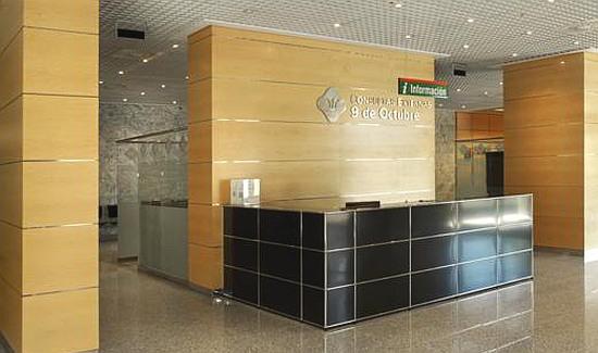 Recepción Hospital Nisa 9 de Octubre Valencia