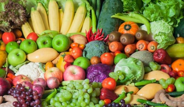 Frutas y verduras 600x350